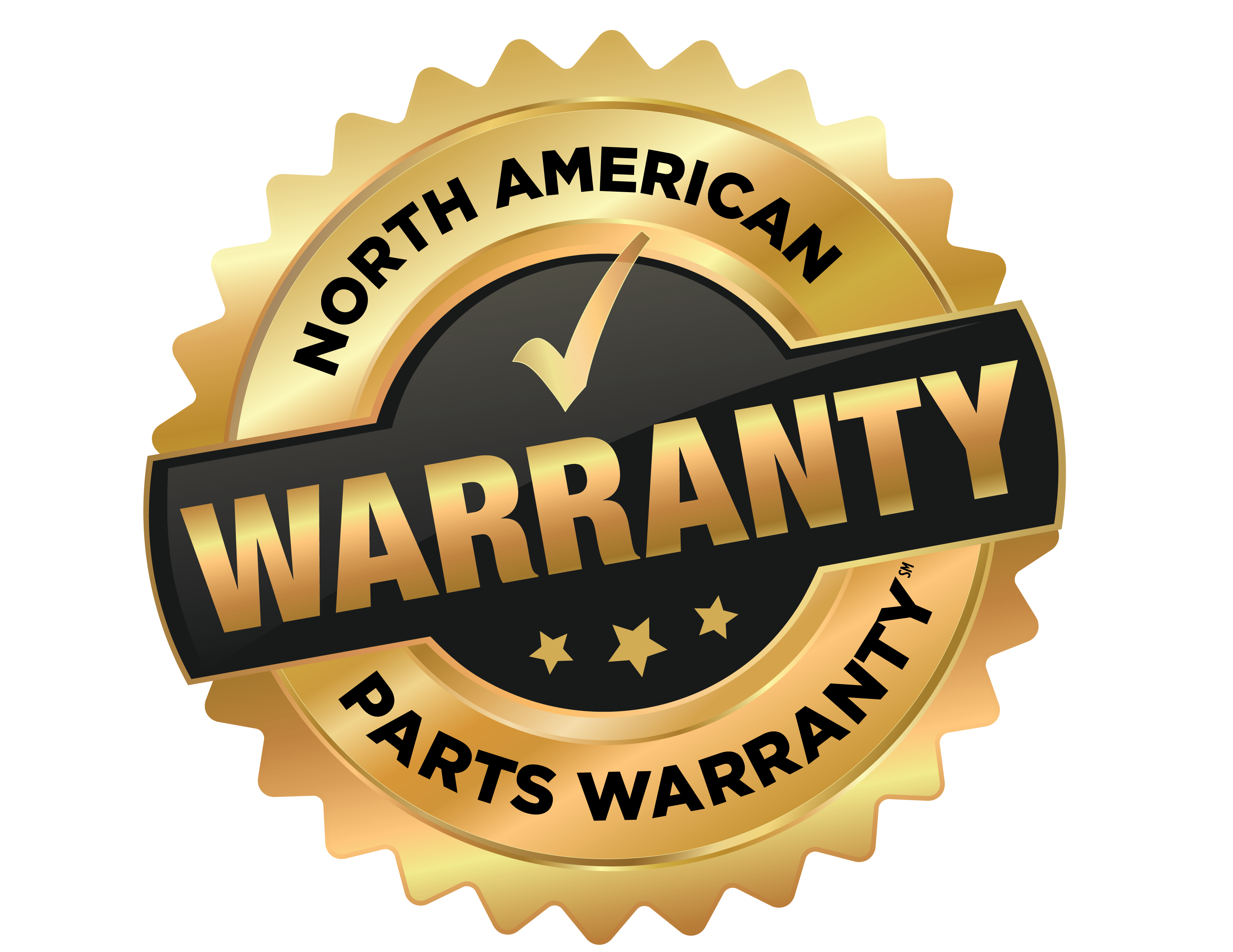 North American Parts Warranty Logo2019