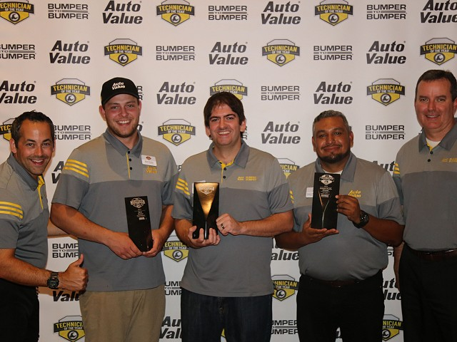 Auto Value and Bumper to Bumper Name 3 Technicians of the Year